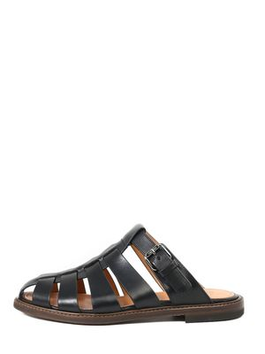 Fisherman sandals black