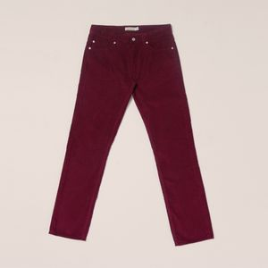 Cords & Co Wes Pant - Red Wine