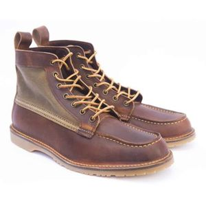 Red Wing Wacouta Canvas Mocc Boot Copper