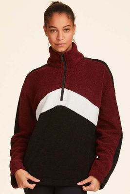 Chalet Sherpa Quarter Zip - Bordeaux