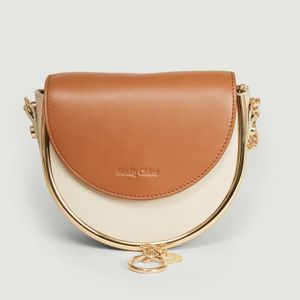 Mara cowhide leather bag CEMENT BEIGE  See by Chloé