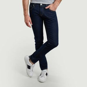 Slim Lassen raw jeans Strong blue Mud Jeans