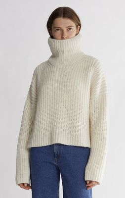 Blanca Turtleneck Knitted Sweater