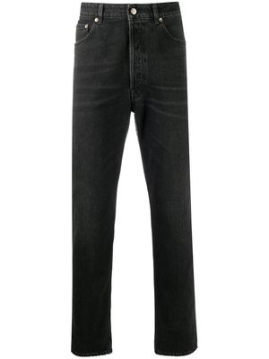 GOLDEN GOOSE MEN'S GMP00596P00012990100 BLACK COTTON JEANS