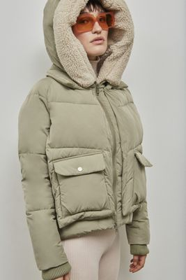 Embassy of Bricks and Logs • Leicester Puffer Jacket • Pal Olive
