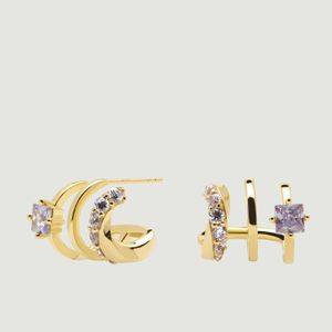 Royal Cavalier gold plated silver earrings Royal PDPAOLA