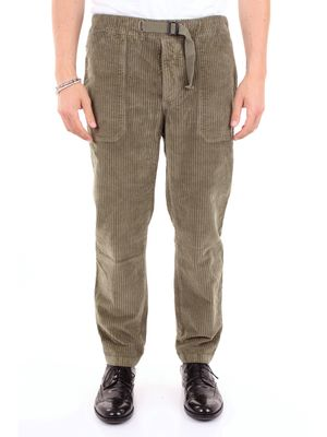 INDIVIDUAL Trousers Chino Men Military green