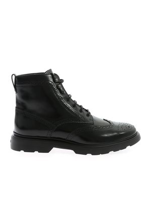 H393 BLACK ANKLE BOOTS
