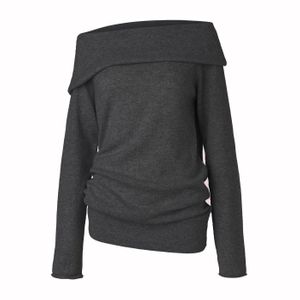 Care By Me SIF SWEATER DARK GREY