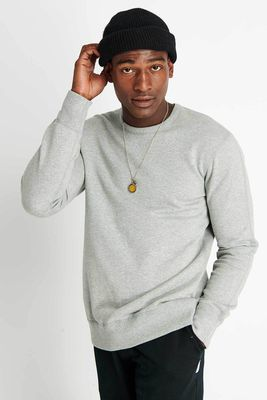 Crewneck Midweight Terry - Grey