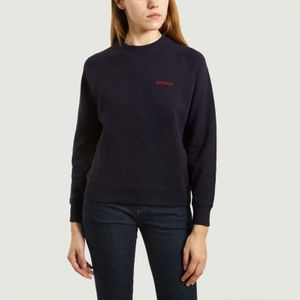 Embroidered Amour Sweatshirt Eclipse Maison Labiche Paris