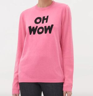 Oh Wow Pink Jumper