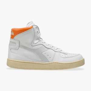 Diadora Heritage Mi Basket - White / Orange