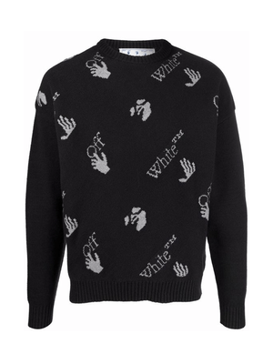 Off-White Sweaters Black