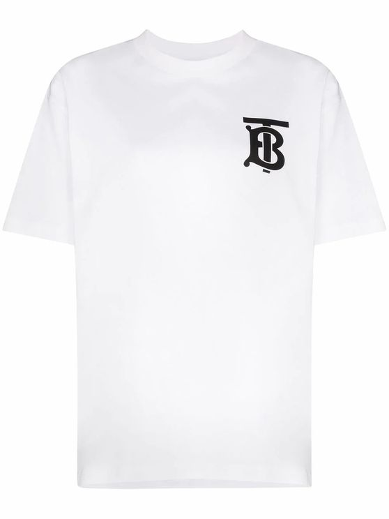 Burberry BURBERRY WOMEN'S 8017473 WHITE COTTON T-SHIRT