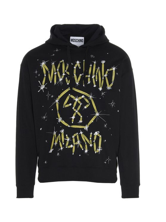 Moschino MOSCHINO MEN'S A171720291555 MULTICOLOR OTHER MATERIALS SWEATSHIRT