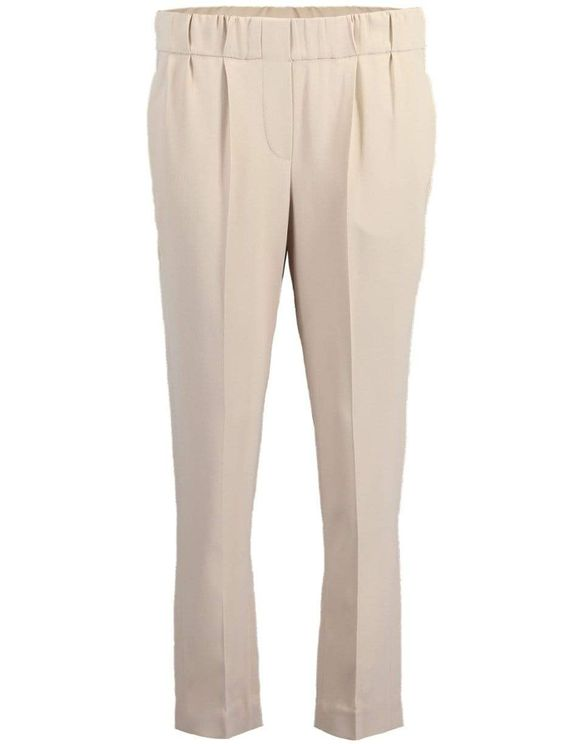Brunello Cucinelli Silks SHELL SILK CREPE PULL ON PANT