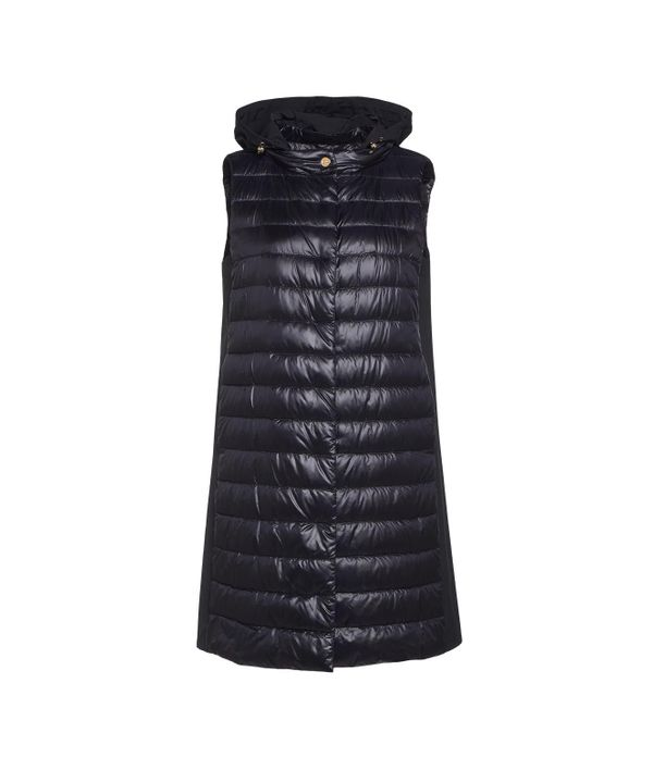 Herno DOWN VEST WITH HOOD
