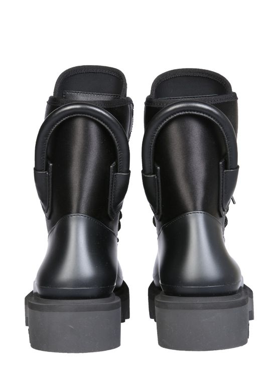 Givenchy Combat Boots In Black