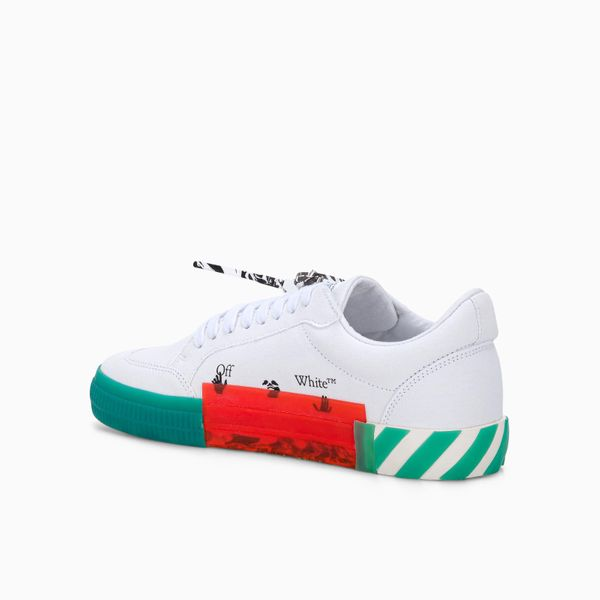 OFF-WHITE Low tops VULCANIZED LOW-TOP SNEAKERS