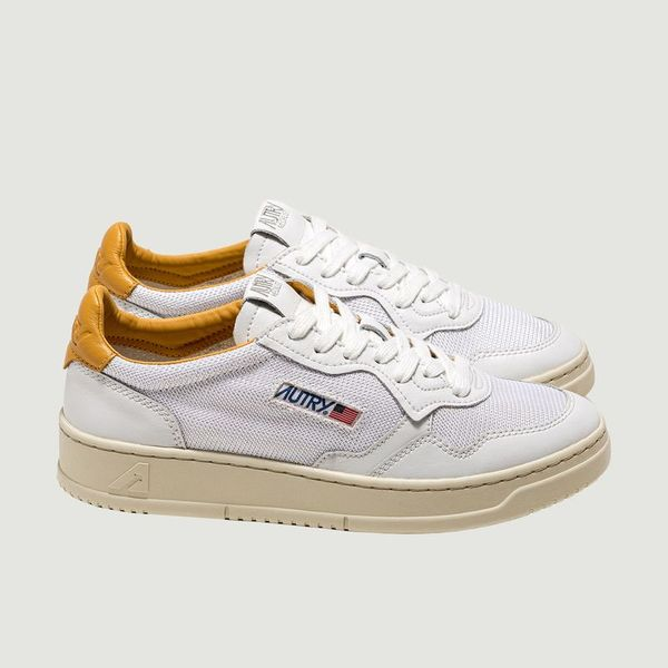 AUTRY Sneakers SNEAKERS MEDALIST WHT GOLD AUTRY