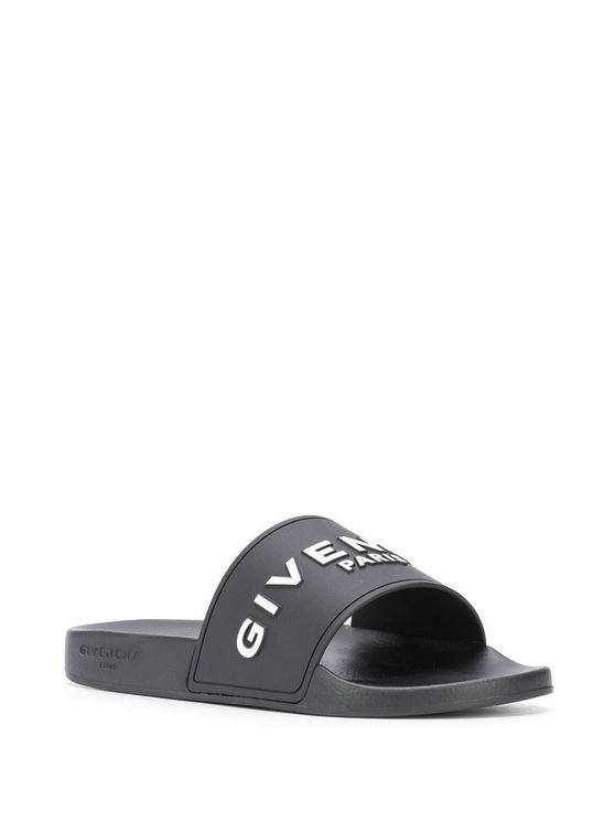 GIVENCHY Sandals GIVENCHY MEN'S BH300HH0EP001 BLACK RUBBER SANDALS
