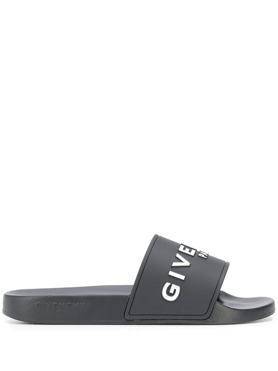 Givenchy GIVENCHY MEN'S BH300HH0EP001 BLACK RUBBER SANDALS