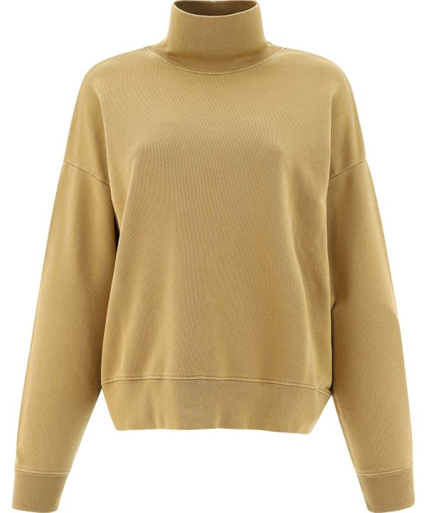 Frame FRAME WOMEN'S LWAC0370VINTAGECAMEL BEIGE COTTON SWEATER