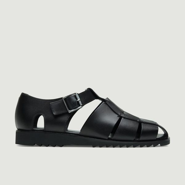 Paraboot Pacific Sport Sandals - In Black