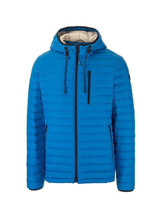 Moose Knuckles Men's M11mj106186 Blue Other Materials Outerwear Jacket
