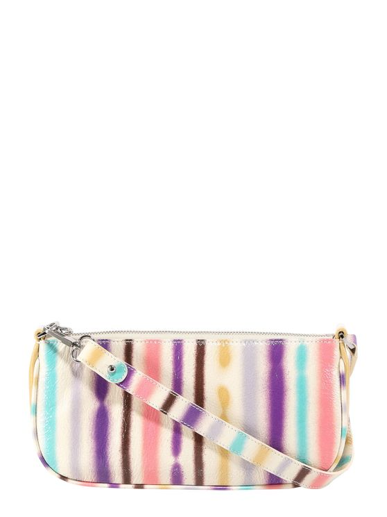 By Far Leather Shoulder Bag In Multi