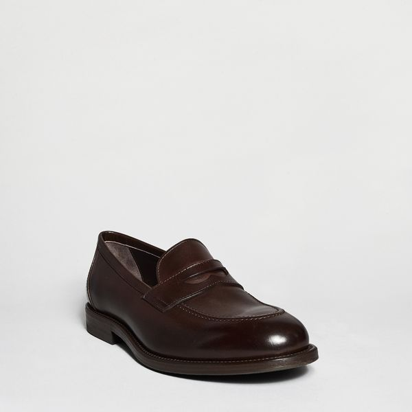 Henderson Baracco Moor Leather Moccasin In Brown