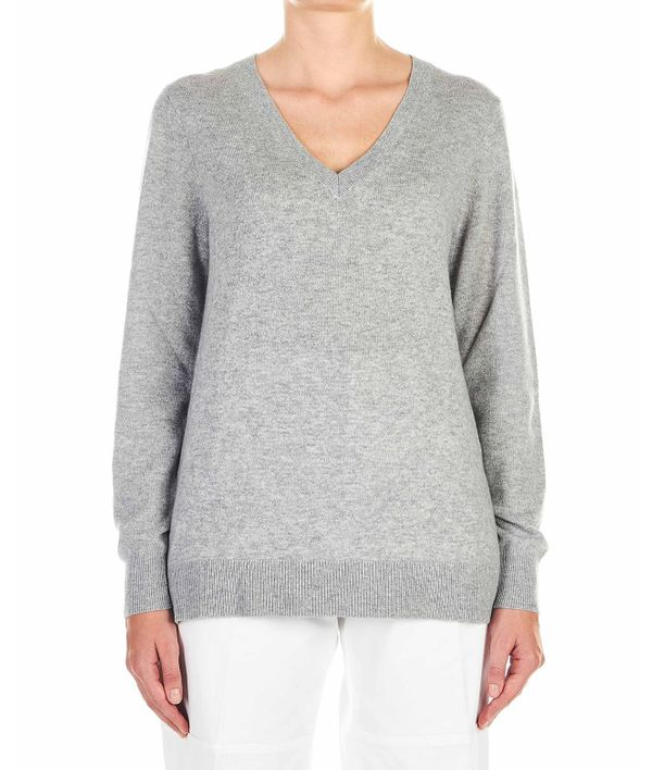 Michael Kors Cashmere Sweater In Grey