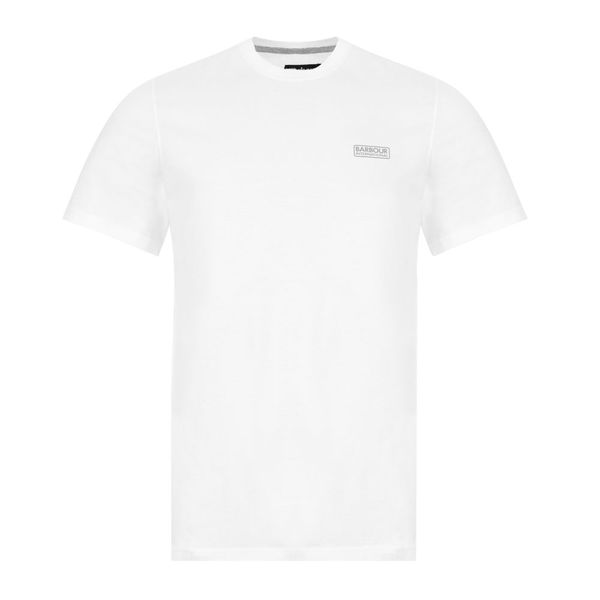 Barbour International T-shirt Logo – White