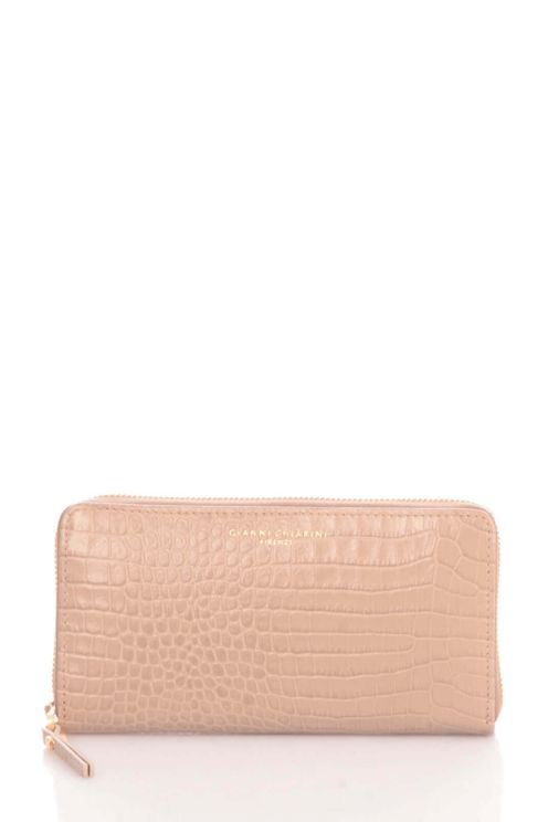Gianni Chiarini Leather Wallet  In Neutral
