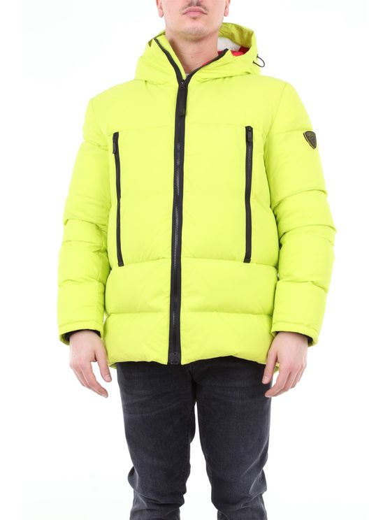 Rossignol Padded Down Jacket With Hood In Yellow