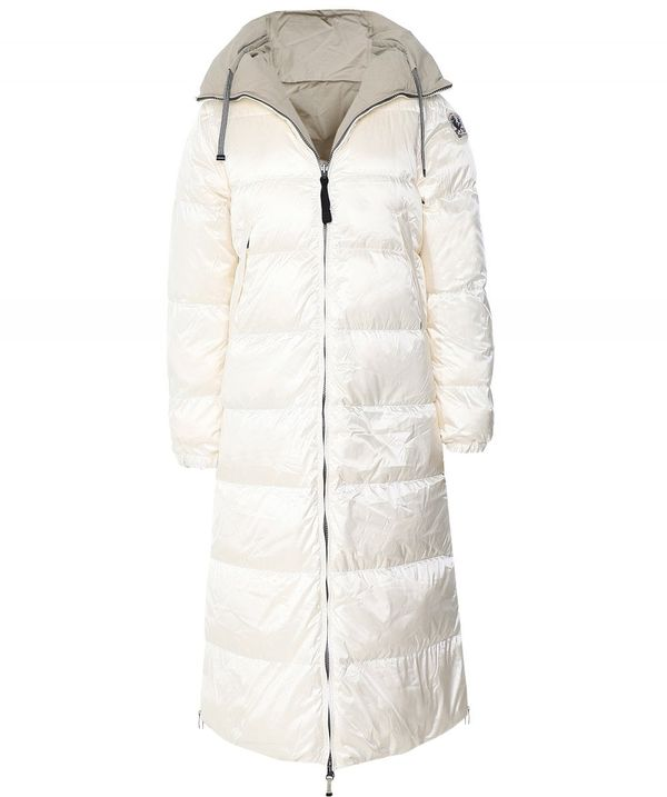 Parajumpers REVERSIBLE SLEEPING BAG COAT COLOUR: WHITE
