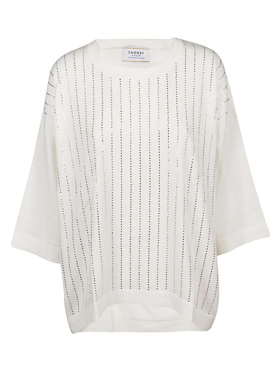 Snobby Sheep Maglia In Bianco