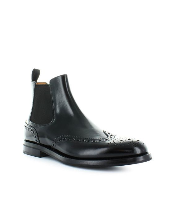 Church's CHURCH'S BLACK KETSBY WG CHELSEA BOOT 37.5