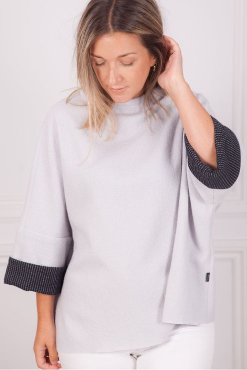 Elemente Clemente Kairon Top In Ice In Gray