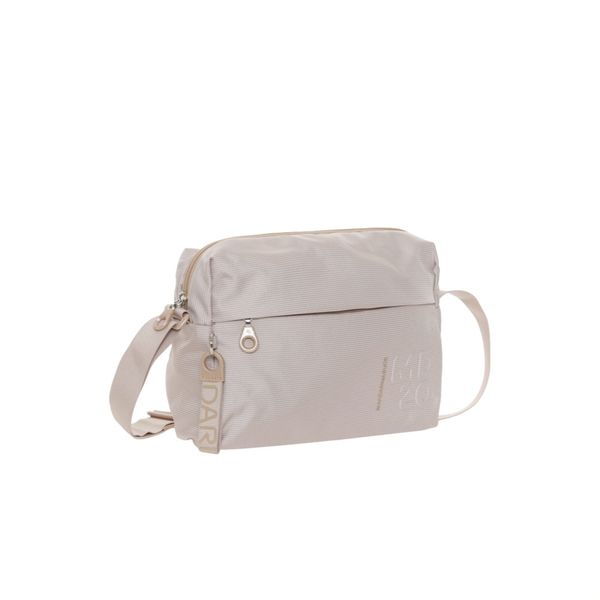 MANDARINA DUCK MD20 Medium Zip Crossover Umhängetasche Tasche Irish Cream Beige
