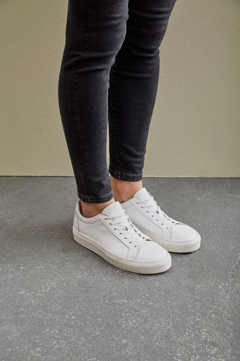 Selected Femme Donna White Trainers